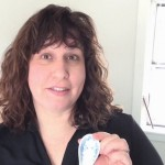 Leta Herman with Gua Sha spoon