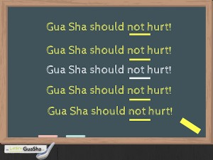 Gua Sha Should Not Hurt LearnGuaSha